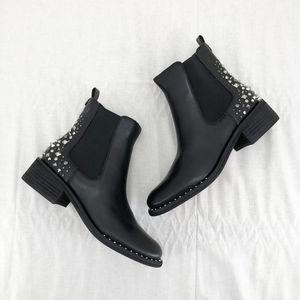 SAM EDELMAN Leather Dover Embellished Stud Boots